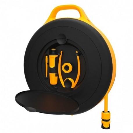 FISKARS Set tambur udare Waterwheel (S) cu 15 m furtun