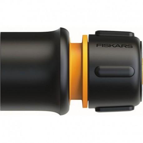 "Conector furtun 19 mm (3/4"") Fiskars LB30 din plastic"