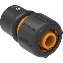 "Conector furtun STOP 19 mm (3/4"") Fiskars LB30 din plastic"
