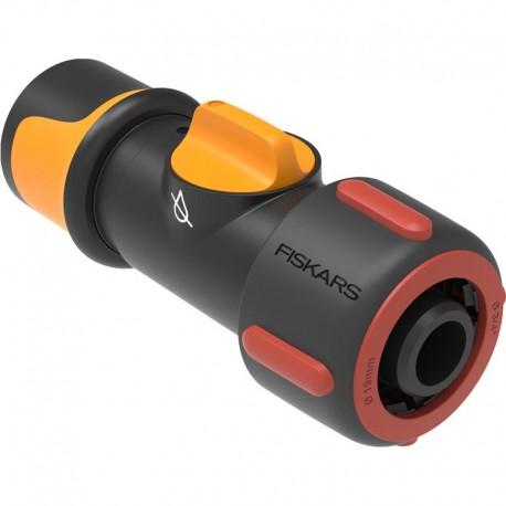 "Conector cu robinet incorporat On/Off, Fiskars 19 mm (¾"")"