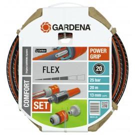 "Furtun Flex Comfort 13 mm (1/2"") - 20 m cu conectori si spritzer 18034"