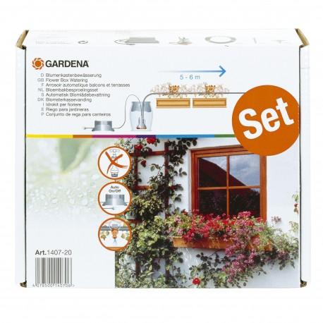 Set automat micro-irigare pentru jardiniere 1407